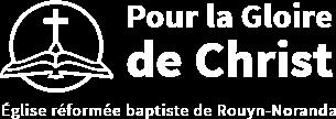 Pour la gloire de Christ